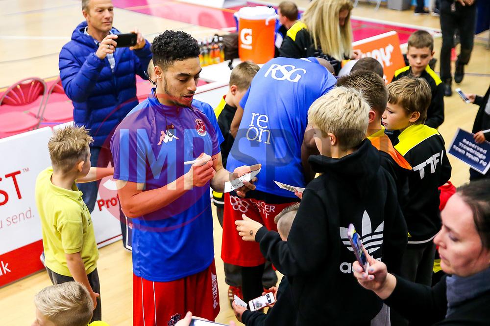 - Rogan/JMP - 11/11/2017 - BASKETBALL - SGS Wise Arena - Bristol, England. - Bristol Flyers v Glasgow Rocks - British Basketball League.