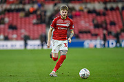 Hayden Coulson of Middlesbrough FC on the attack during the The FA Cup match between Middlesbrough and Tottenham Hotspur at the Riverside Stadium, Middlesbrough, England on 5 January 2020.