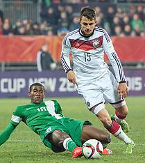 Christchurch-Football, Under 20 World Cup, Nigeria v Germany
