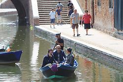 REGISTRAZIONE PUNTATA 16 DEL PROGRAMMA SKY MASTERCHEF A COMACCHIO (FE)<br /> NELLA FOTO CARLO CRACCO BRUNO BARBIERI E JOE BASTIANICH<br /> COMACCHIO (FE) 02/07/2013<br /> FOTO FILIPPO RUBIN
