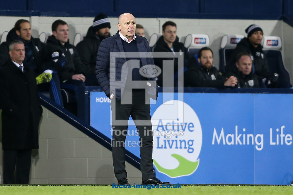 Hull City manager Mike Phelan during the Premier League match at The Hawthorns, West Bromwich<br /> Picture by Andy Kearns/Focus Images Ltd 0781 864 4264<br /> 02/01/2017