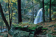Waterfall, Platte Cove, Catskill Park, Fall, New York