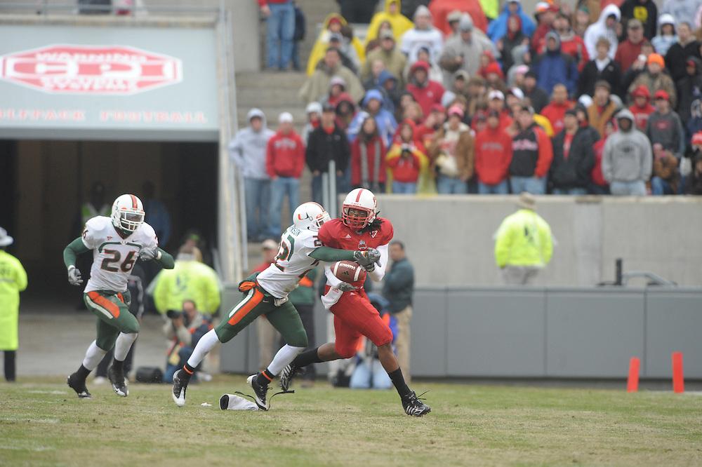 2008 Miami Hurricanes Football @ North Carolina State