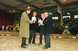 Jury<br /> BWP Stallion Keuring 2001<br /> Photo © Dirk Caremans