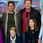 Luke Evans attend European Premiere of Frozen 2 on 17 November 2019, BFI Southbank, London, UK.