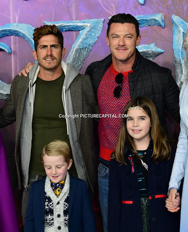 Luke Evans attend European Premiere of Frozen 2 on 17 November 2019, BFI Southbank, London, UK.