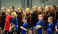 150321 Nederland - Slowakije dames oefenwedstrijd
