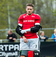 ALMERE - Hockey - Hoofdklasse competitie heren. ALMERE-HGC (0-1) . Keeper Youri Beck (Almere)   COPYRIGHT KOEN SUYK