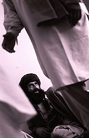 21 August 2005..Musulmans, with long beard and black turbans, during a meeting for the forthcoming National Elections.