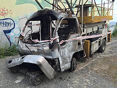 Wellington-Maintenance truck on fire in railway tunnel