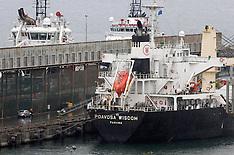 New Plymouth-Fire in hold of ship at Port Taranaki