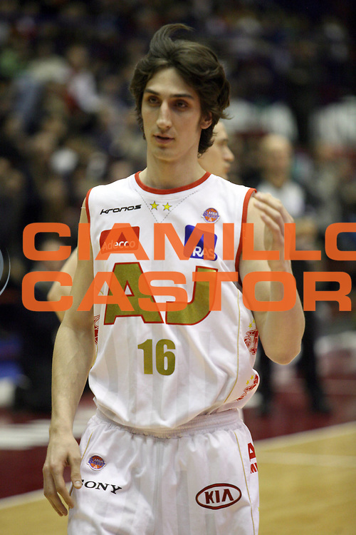 DESCRIZIONE : Milano Lega A1 2006-07 Armani Jeans Milano Whirlpool Varese<br /> GIOCATORE : Plumari<br /> SQUADRA : Armani Jeans Milano<br /> EVENTO : Campionato Lega A1 2006-2007<br /> GARA : Armani Jeans Milano Whirlpool Varese<br /> DATA : 18/02/2007<br /> CATEGORIA : Curiosita<br /> SPORT : Pallacanestro<br /> AUTORE : Agenzia Ciamillo-Castoria/S.Ceretti