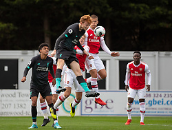 BOREHAMWOOD, ENGLAND - Saturday, September 28, 2019: Liverpool's Sepp Van Den Berg during the Under-23 FA Premier League 2 Division 1 match between Arsenal FC and Liverpool FC at Meadow Park. (Pic by Kunjan Malde/Propaganda)