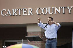 Rowan County Clerk Kim Davis was released from the Carter County Detention center, Tuesday, Sept. 08, 2015 at Carter County Detention Center in Grayson. <br /> <br /> Photo by Jonathan Palmer, Special to the CJ