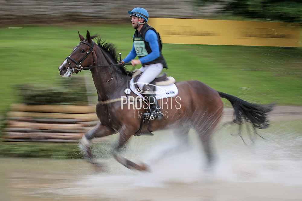 GOLDSMITHS IMBER ridden by Arthur Chabert taking part in the Equitrek CCI*** cross country on day three of the Bramham International Horse Trials 2017 at Bramham Park, Bramham, United Kingdom on 11 June 2017. Photo by Mark P Doherty.