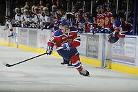 KELOWNA, CANADA, FEBRUARY 15: Henrik Samuelsson #10 of the Edmonton OIl Kings skates on the ice at the Kelowna Rockets on February 15, 2012 at Prospera Place in Kelowna, British Columbia, Canada (Photo by Marissa Baecker/Shoot the Breeze) *** Local Caption ***
