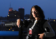 LAURA TORCHIA Akron native Stephanie Krell works as a news and commercial photographer in northeast Ohio.