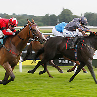 King's Masque and Martin Lane winning the 3.00 race