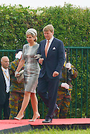 Ceremony of the bicentenary of the Battle of Waterloo. Waterloo, 18 june 2015, Belgium<br /> Pics: King Willem-Alexander of the Netherlands and Queen Maxima of the Netherlands
