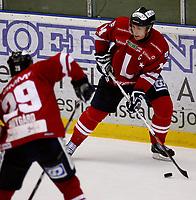 Ishockey , Get - ligaen <br /> 19.09.09 <br /> Kristins Hall<br /> Lillehammer I.K  v   Stjernen Hockey 2-3<br /> <br /> Foto:Dagfinn Limoseth  -  Digitalsport<br /> Stefan Sjødin , Lillehammer