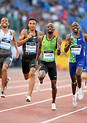 Nijel Amos (BOT) places second in the 800m in 1:43.65 during the 39th Golden Gala Pietro Menena in an IAAF Diamond League meet at Stadio Olimpico in Rome on Thursday, June 6, 2019. (Jiro Mochizuki/Image of Sport)
