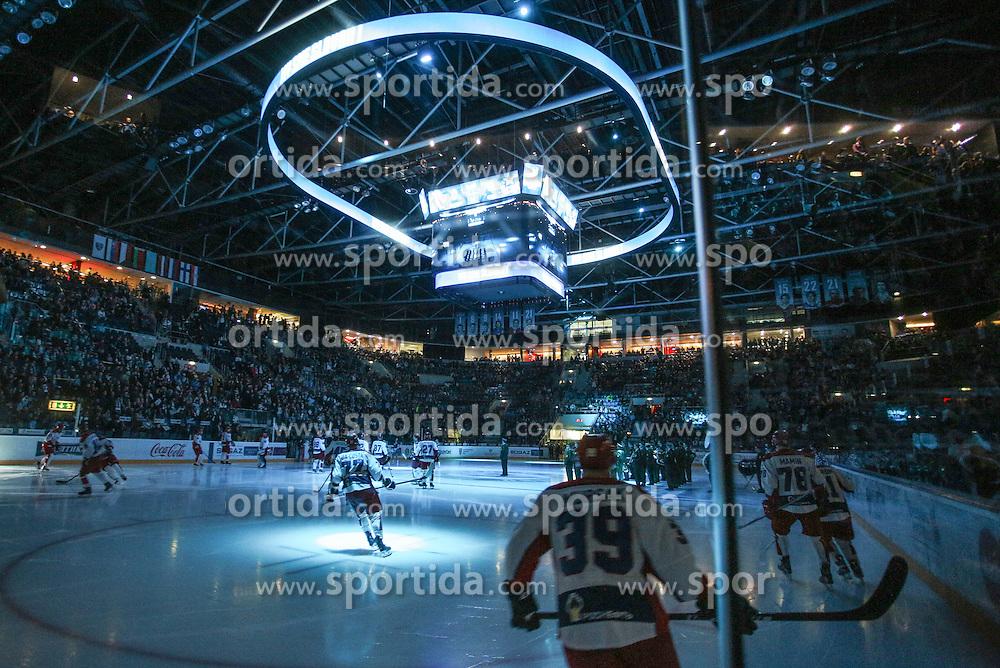 Jan Mursak of CSKA Moscow before KHL League ice hockey match between HK Slovan Bratislava and CSKA Moscow, on February 27, 2015 in Ondrej Nepela Arena, Bratislava, Slovakia. Photo by Matic Klansek Velej / Sportida