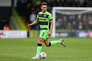 Forest Green Rovers Liam Shephard(2) during the EFL Sky Bet League 2 match between Forest Green Rovers and Newport County at the New Lawn, Forest Green, United Kingdom on 6 October 2018.