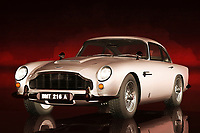 When people think about the Aston Martin, they tend to think of James Bond. You are certainly going to imagine the best elements of those iconic films, when you check out everything this acryl on canvas has to offer. If you have ever driven one of these cars before, then you should be able to appreciate why these vehicles continue to captivate those who love adventure. This is a car that means adventure, but it is also a profoundly sophisticated piece of machinery. This piece is available as wall art, t-shirts, or as interior d&eacute;cor products.<br /> <br /> About car: The Aston Martin DB5 is a British luxury grand tourer that was made by Aston Martin and designed by the Italian coachbuilder Carrozzeria Touring Superleggera. Released in 1963, it was an evolution of the final series of DB4. The DB series was named honouring Sir David Brown (the head of Aston Martin from 1947 to 1972). Although not the first, the DB5 is famous for being the most recognised cinematic James Bond car, first appearing in Goldfinger (1964).