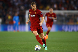 May 2, 2018 - Rome, Lazio, Italy - AS Roma v FC Liverpool - Champions League semi-final second leg.Edin Dzeko of Roma at Olimpico Stadium in Rome, Italy on May 02, 2018. (Credit Image: © Matteo Ciambelli/NurPhoto via ZUMA Press)