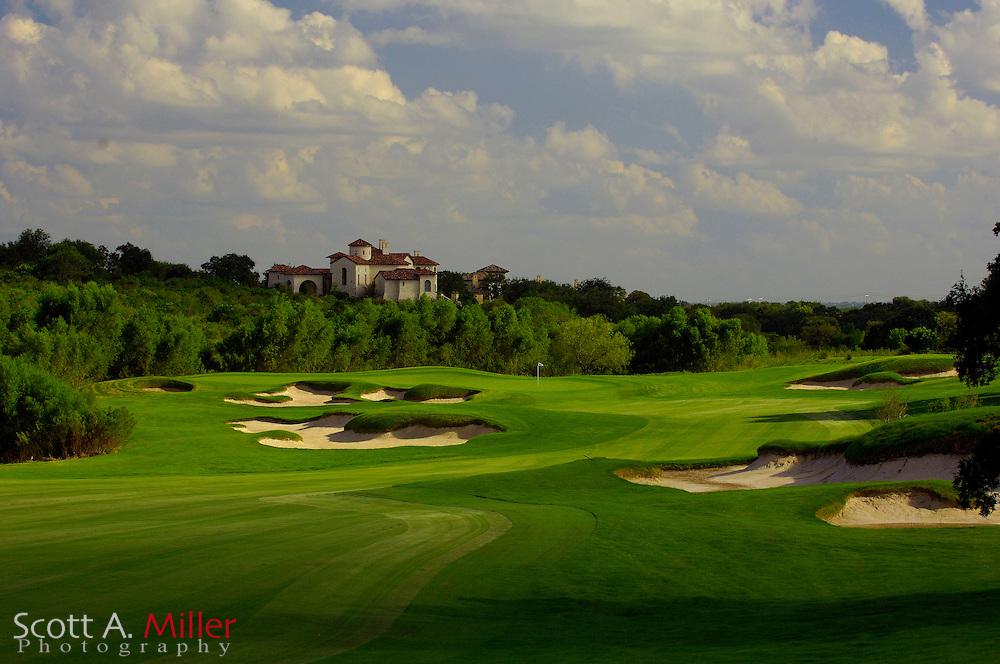 September 7, 2007, San Antonio, Texas; Hole No. 11 at the Briggs Ranch Golf CLub...                ©2007 Scott A. Miller