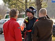 Leo Houlding and Tim Emmett meet BASE jumping legend Robi Pecnik
