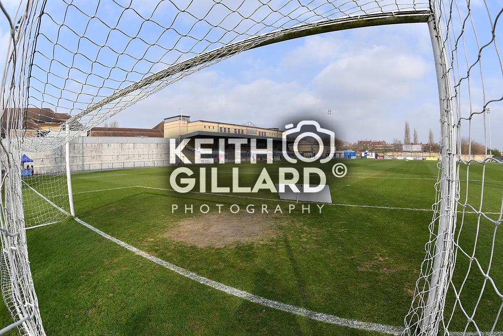 Dulwich Hamlet v Needham Market, Ryman League Premier Division, Champion Hill, 18 February  2017. <br /> <br /> <br /> Image by Keith Gillard