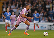 Anton Ferdinand during the Capital One Cup match between Portsmouth and Reading at Fratton Park, Portsmouth, England on 25 August 2015. Photo by Adam Rivers.
