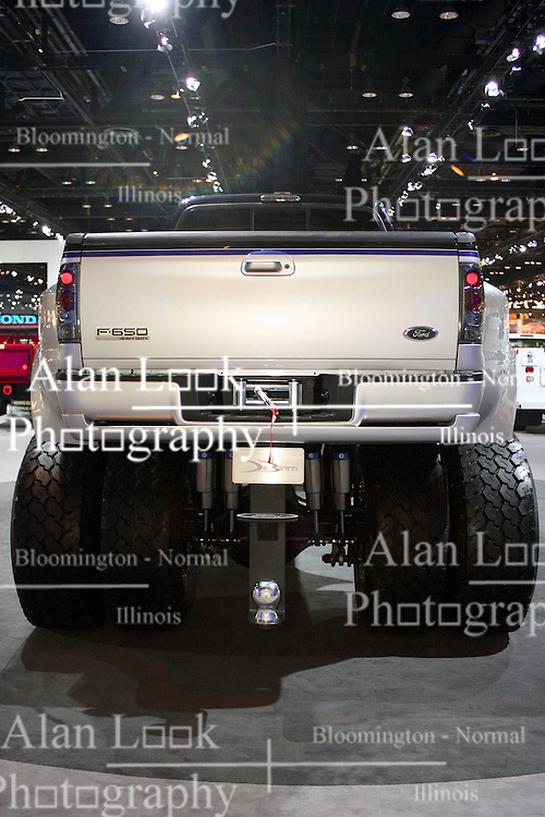 08 February 2007: 2007 Ford F-650 by DeBerti Designs. The Chicago Auto Show is a charity event of the Chicago Automobile Trade Association (CATA) and is held annually at McCormick Place in Chicago Illinois.