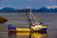 Fishing boat, Wrangell, Southeast Alaska USA