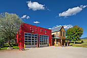 Missouri Heights Fire House, Missouri Heights, Co, Black Shack Architects