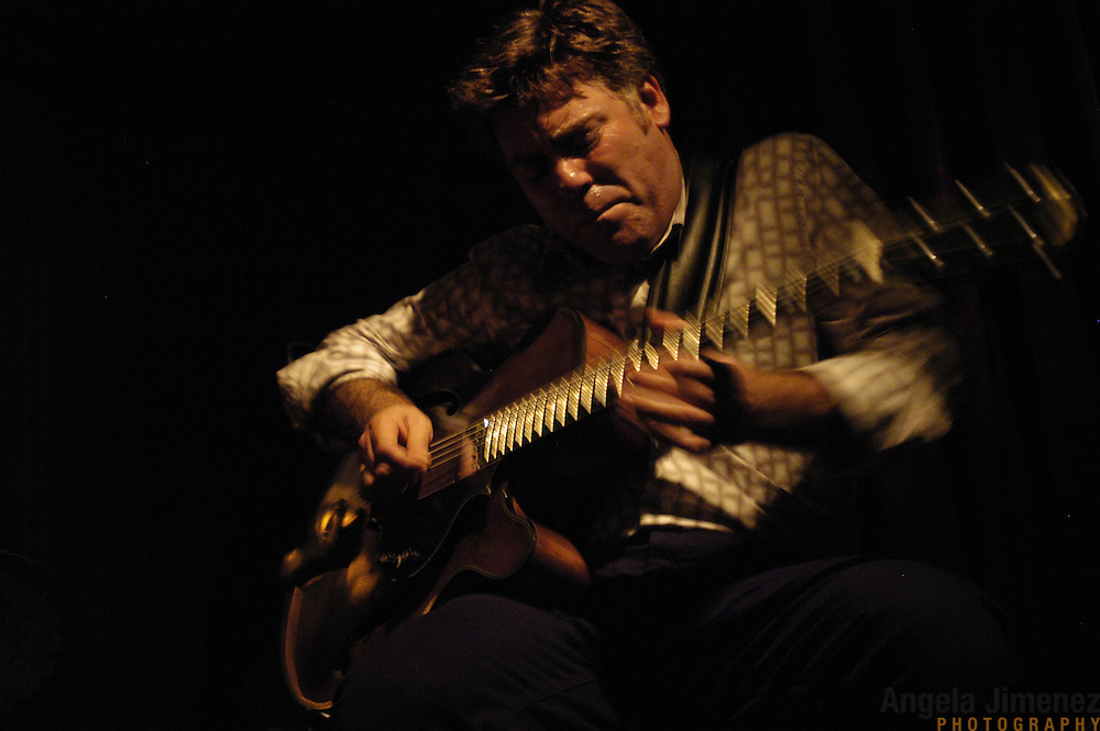 Guitarist Peter Bernstein performs with The Peter Bernstein Trio at the Smoke Jazz Club & Lounge in New York City on August 20, 2004.   ..