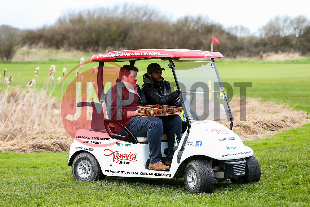 Mark Little in axtion on the Bristol City golf day in aid of Childrens Hospice South West and the Bristol City Community Trust - Rogan Thomson/JMP - 21/03/2017 - GOLF - Mendip Springs Golf Club - Bristol, England - Bristol City Charity Golf Day.
