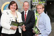 300 Businesses Expected to Attend West of Ireland&rsquo;s Largest Business Networking Event<br />  Registration is now open for MeetWest 2014, the largest business networking event in the West of Ireland this year. <br /> Hosted by Galway City Council, MeetWest 2014 is a two-day business networking forum taking place at the Galway Bay Hotel, Salthill, Galway on November 20th and 21st 2014.<br /> Pictured at the launch of MeetWest2014 in City Hall, Galway were  Cllr. Mary Hoade,  Cathoirleach Galway County Council; Alan Farrell and Brian Barrett, Galway County Council. Photo:Andrew Downes
