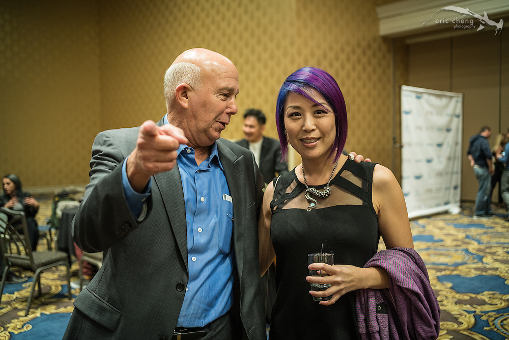 Marty Snyderman and Carolyn Wang (DEMA 2016, Las Vegas)