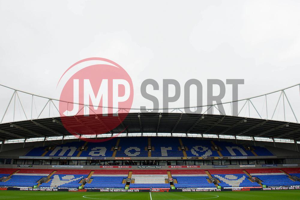 A general view of the Macron Stadium - Mandatory byline: Dougie Allward/JMP - 07966 386802 - 07/11/2015 - FOOTBALL - Macron Stadium - Bolton, England - Bolton Wanderers v Bristol City - Sky Bet Championship