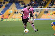 Northampton Town forward Marc Richards (capt) during the Sky Bet League 2 match between Mansfield Town and Northampton Town at the One Call Stadium, Mansfield, England on 28 March 2016. Photo by Jon Hobley.