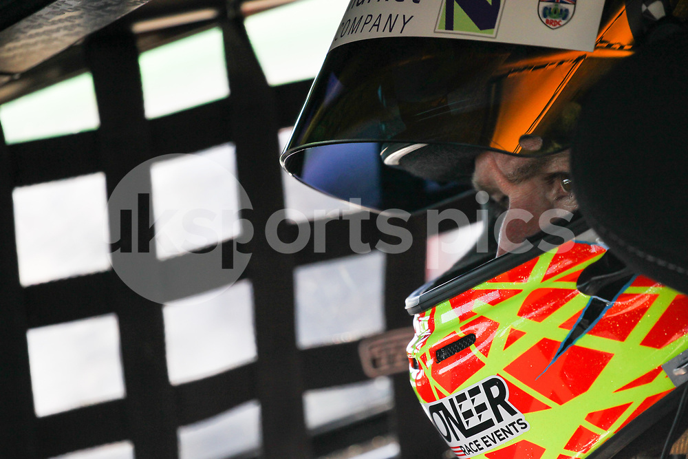 Autoaid/RCIB Insurance Racing Ginetta G55 GT4 driver Micheal Caine during the British GT And BRDC British F3 Championships at the Snetterton Circuit, Norwich, England on 27 May 2017. Photo by Jurek Biegus.