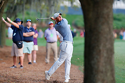 March 15, 2019 - Ponte Vedra Beach, FL, U.S. - PONTE VEDRA BEACH, FL - MARCH 15: Rory McIlroy of Northern Ireland plays a shot on the 18th hole during the second round of THE PLAYERS Championship on March 15, 2019 on the Stadium Course at TPC Sawgrass in Ponte Vedra Beach, Fl.  (Photo by David Rosenblum/Icon Sportswire) (Credit Image: © David Rosenblum/Icon SMI via ZUMA Press)