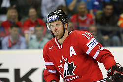 12.05.2011, Orange Arena, Bratislava, SVK, IIHF 2011 World Championship, Canada vs Russia, im Bild ANDREW LADD'S INJURY. EXPA Pictures © 2011, PhotoCredit: EXPA/ EXPA/ Newspix/ .Tadeusz Bacal +++++ ATTENTION - FOR AUSTRIA/(AUT), SLOVENIA/(SLO), SERBIA/(SRB), CROATIA/(CRO), SWISS/(SUI) and SWEDEN/(SWE) CLIENT ONLY +++++