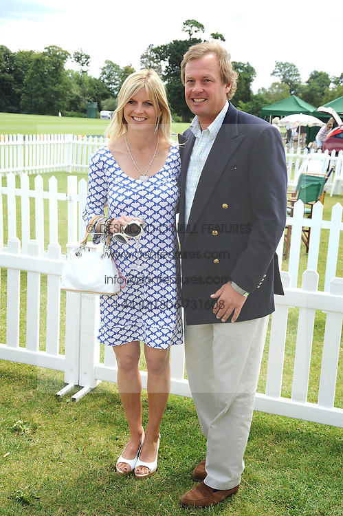 THE MARQUESS & MARCHIONESS OF MILFORD-HAVEN at the 2008 Veuve Clicquot Gold Cup polo final at Cowdray Park Polo Club, Midhurst, West Sussex on 20th July 2008.<br /> <br /> NON EXCLUSIVE - WORLD RIGHTS