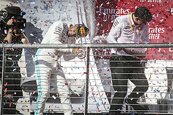 November 3, 2019, Austin, United States of America: Motorsports: FIA Formula One World Championship 2019, Grand Prix of United States, ..#44 Lewis Hamilton (GBR, Mercedes AMG Petronas Motorsport), James Allison (Mercedes AMG Petronas Motorsport) (Credit Image: © Hoch Zwei via ZUMA Wire)