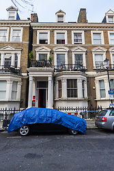 29 Holland Park Gardens where a fire in a flat on the first floor of a converted house claims the life of a man and his dog in Holland Park, West London. February 07 2018.