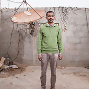 Taki Elmachdoufi, 28 years old lives in El Aaiun. He was studying to be a mechanic but had to leave the school. He has a little shop where he sells goat and camel milk and butter. In his spare time he studies languages. <br /> <br /> His dream would be to marry and have children before his mother dies. &ldquo; I haven&rsquo;t got anything to offer&rdquo; he says knowing that it will be very difficult to find a decent job.<br /> <br /> Taki was one of the 24 people arrested during the clases between Saharawis and Moroccan forces at the Gdeim Izik camp. He was arrested, beaten and taken to prison. &ldquo;Only the driver didn&rsquo;t beat me as he was driving&rdquo;. They beat his head and knees with a torch. They threw cold water and urine. All lthe arrested people were forced to sign false statements with thumbprint as they had their hands tied. <br /> <br /> Taki was released two years later together with Sidi Abderahman. The remaining 22 activists are still in prison of which, nine are for life imprisonment.
