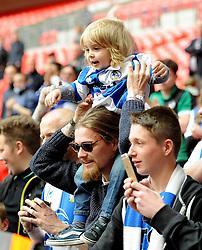 - Photo mandatory by-line: Neil Brookman/JMP - Mobile: 07966 386802 - 17/05/2015 - SPORT - football - London - Wembley Stadium - Bristol Rovers v Grimsby Town - Vanarama Conference Football